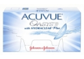 Линзы Джонсон и Джонсон Acuvue Oasis with HYDRACLEAR Plus.